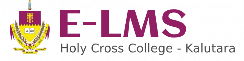 E-LMS of Holy Cross College - Kalutara